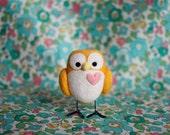 Edmund the Needle Felted Owl