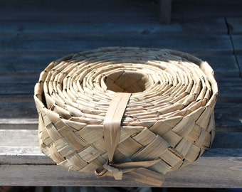 Heavy Duty Very thick Lauhala, woven, Belting, ribbon 3  inch wide-25 foot roll, Tahitian costume, Polynesian costumes, woven lauhala belt