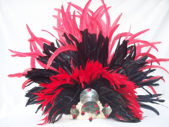 Extra Large and fancy Tahitian Headdress headpiece Tahitian dance costume