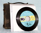 50s Record Great Balls of Fire (A Birthday Party Invitation) - Design Fee