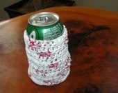 plastic crochet can coozie