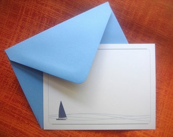 Peaceful Sailing Note Cards - Set of 25