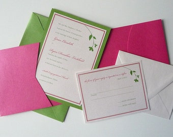 Sweet Branch Wedding Invitations
