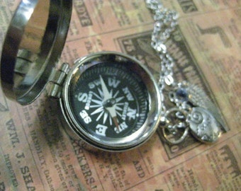 Compass Necklace Follow Your Dreams Graduation Gift