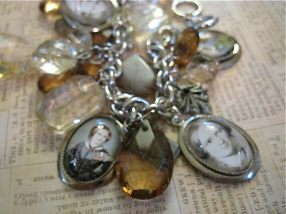 Charlotte Bronte Woeful Charming Bracelet