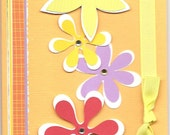 Happy Flowers Greeting Card By Polliwog123 To Benefit Heart Strings