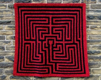 Amazement - PDF pattern for knitted afghan