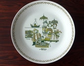 vintae Norway large plate