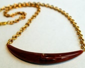 Brown Boca Necklace