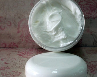 Butter Baby Powder Body Butter  Whipped Shea Butter Jojoba Sunflower Sweet Almond Oils