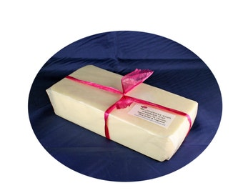 Soap Bahama Coconut Soap Loaf One Pound Goatmilk Shea Butter Mango Butter Coconut Oil by Toadstool Soaps