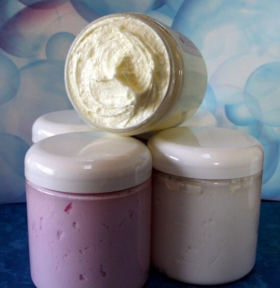 Bath Mousse Candied Walnuts Whipped Creamy Shower Soap Olive Oil Shea Butter by Toadstool Soaps