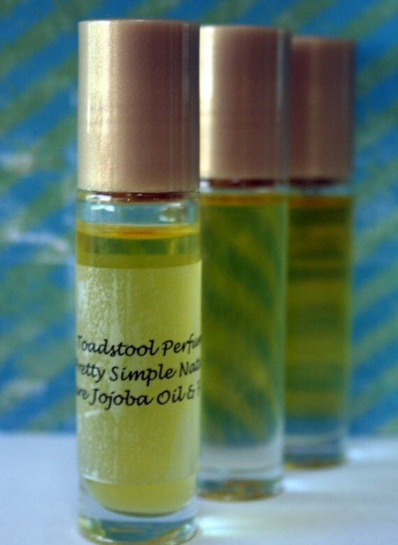 Strawberry Fields Perfume Oil Body Oil Organic Jojoba Oil Roll On Handcrafted by Toadstool Soaps