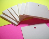 Square Tags, Gift Tags, Set of 50, Price Tags, Product Tag, Wedding Tag, Jewelry Card