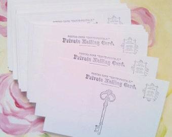 Set of Postcards - Set of 50 - Soft White