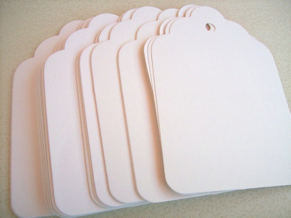 gift tags, 3.5x4.5 inches, 100 cream, large, place cards, price tags, merchandise tags