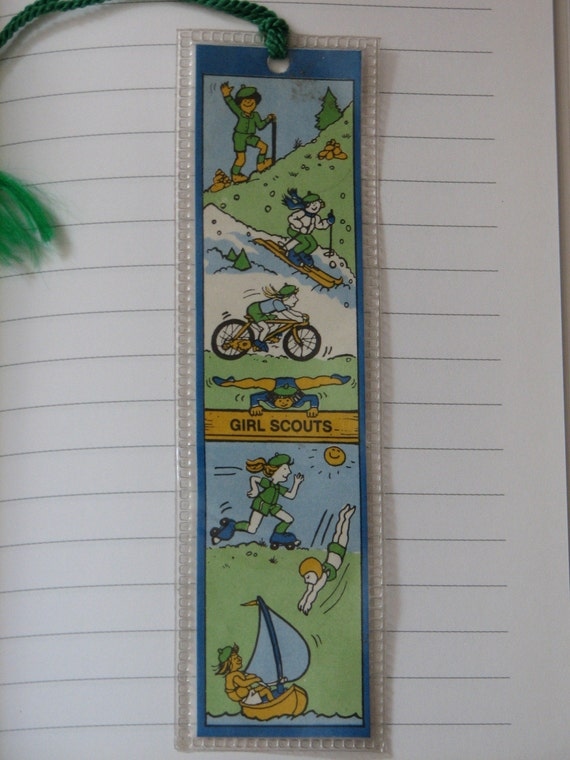 Girl Scout Bookmark