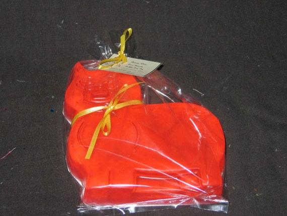 Clearance Item Thick Orange Bubble Gum Pig Soap