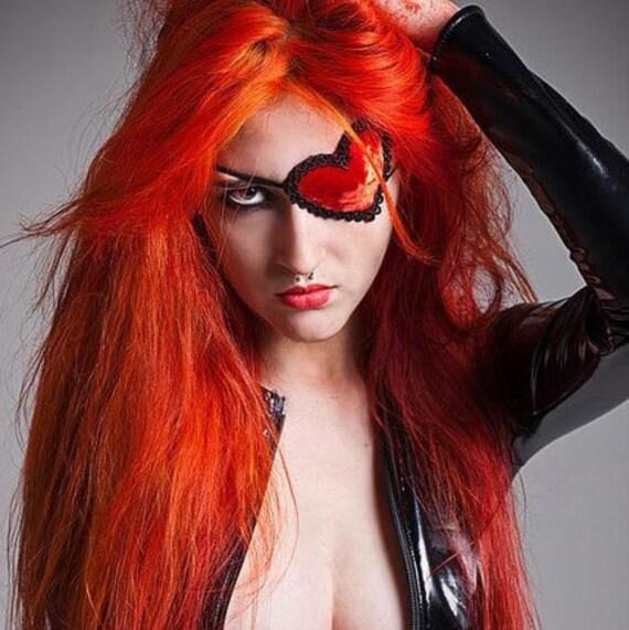 Molotov Velvet Heart Eye Patch