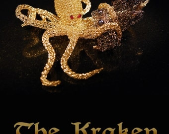 The Kraken - Wearable Sculpture