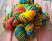 yarn oddities 'magic dance' wash-me sock