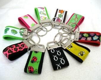 Mini Key Fob Grab Bag - Quantity 10 - Wholesale Pricing - HALF OFF