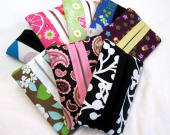 Purse Tissue Holders Grab Bag - 10 Pocket Tissue Cases - Wholesale Pricing - Resale - Party Favor Lot - HALF OFF