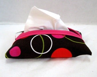 Tissue Holder Circles Travel Size