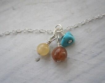 borrowed energies gemstone charm pendants