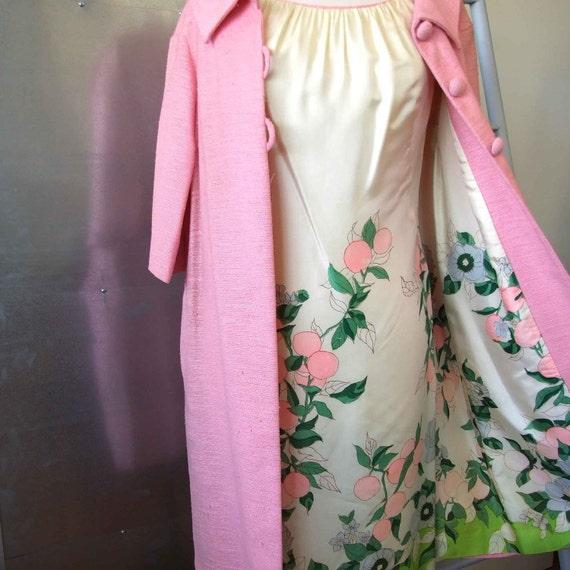 Spring for Mad Men - vintage 60s matching dress set
