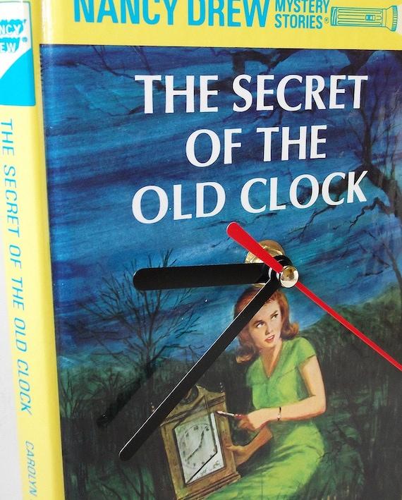 Nancy drew old clock bottom