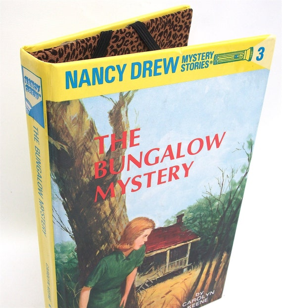 Ereader Cover for Kobo Kindle Nook - Nancy Drew Book - Bungalow Mystery