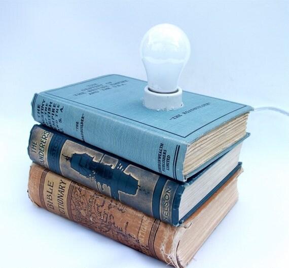 Antique British Empire  Book Lamp 1928 - Vintage Desk Lamp