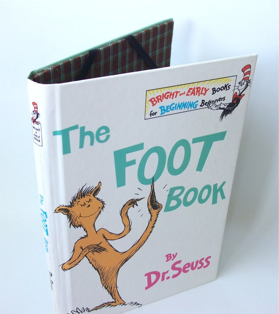 Dr. Seuss Foot Book Ereader Cover for Kindle Nook or Kobo Tablet Devices