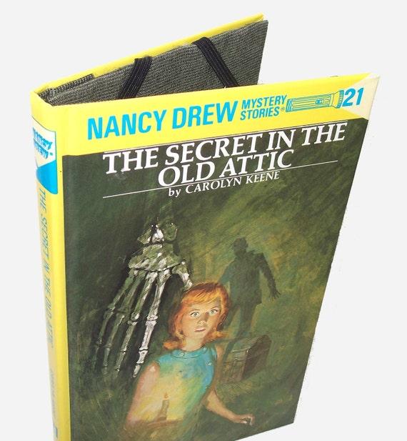 Kindle Nook Kobo Cover Case: Nancy Drew Book - Secret in Old Attic