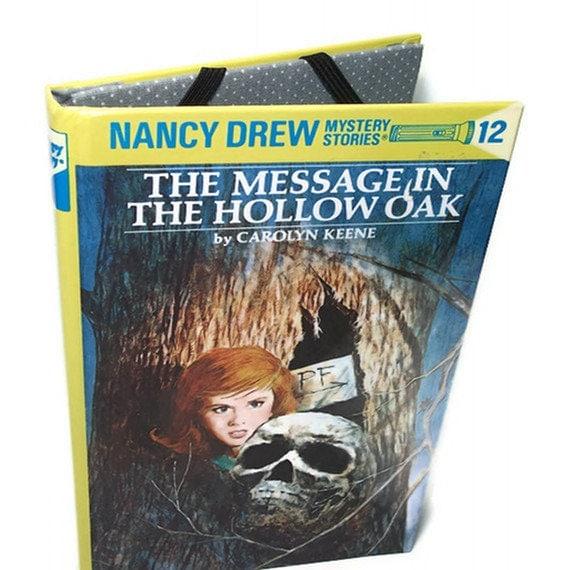 Kindle Cover Kobo or Nook Cover Ereader Case - Nancy Drew Hollow Oak Book Tablet Device Case