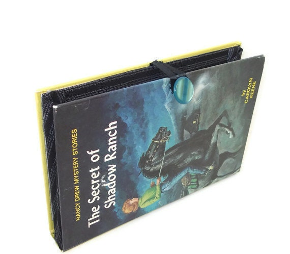 Nancy Drew Book Purse Clutch - Secret of Shadow Ranch