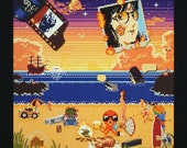 "Memory Beach pt. 2 - 8x8"" open edition print"