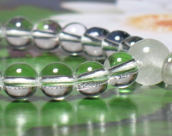 Clear Quartz 21-Bead Wrist Mala