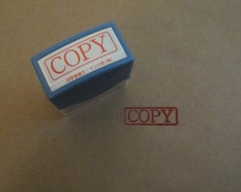 COPY self inking rubber stamp Japanese