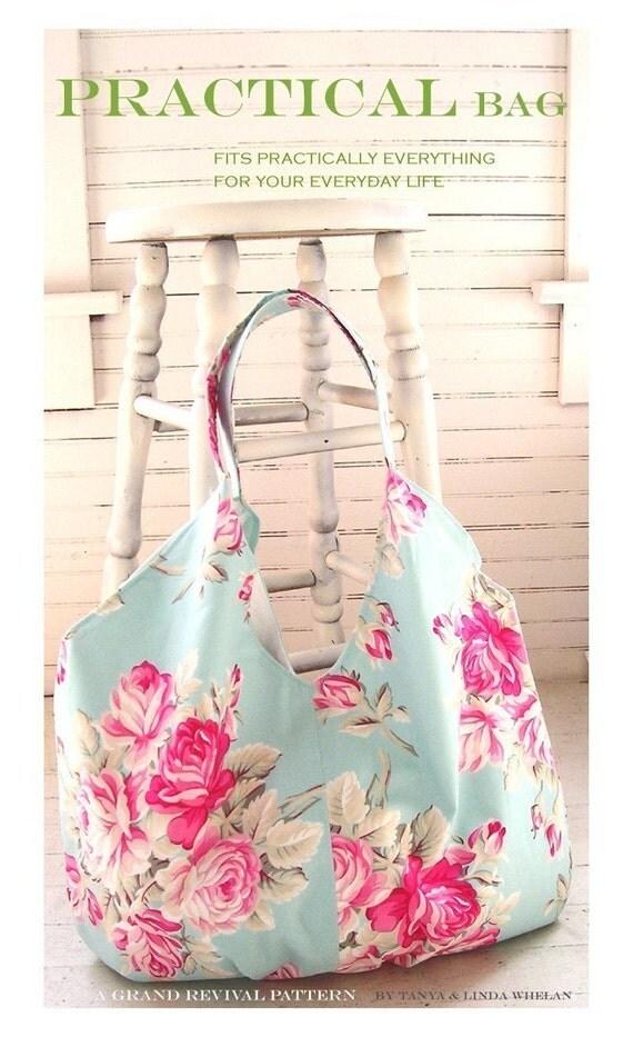 tanya whelan practical bag pattern tote bag purse grand. Black Bedroom Furniture Sets. Home Design Ideas