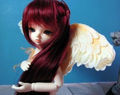 Ivory Angel Wings size small -- teambjd