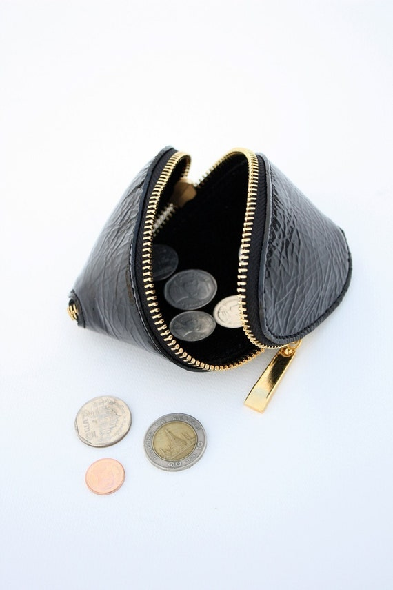 S Bag Coin pocket by Quote -- Leather Street design bag