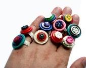 DIY Button Ring Kit