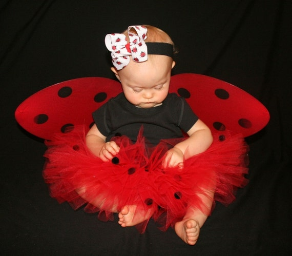 Knitting Ladybug Ladybird Headband : Ladybug boutique big bow headband halloween costume must have