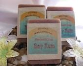 bay rum  handmade soap