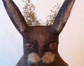 Primitive Folk Spring Bunny Rabbit Pattern  ETSYFOLK