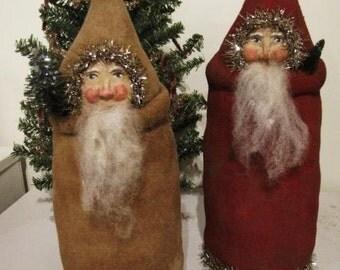 Primitive Santa Belsnickel Christmas PATTERN by Chickadee Primitives