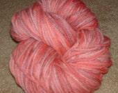 mauve multi hand dyed merino wool