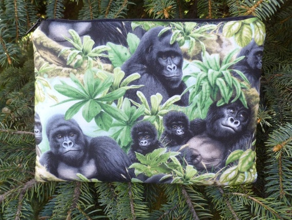 Gorilla Kindle case 3rd Gen Fire and Touch, Nook 2nd Gen, Galaxy Tab, sleeve, optional shoulder strap or wristlet, The Elm